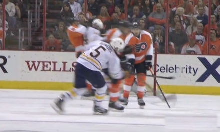Flyers' Rinaldo Suspended 4 Games for Hit on Sabres' Ruhwedel