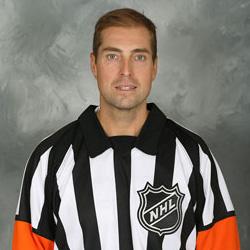 NHL Referee Eric Furlatt (#27)