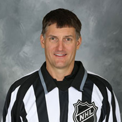 NHL Linesman Shane Heyer (#55)