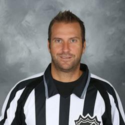 NHL Linesman Jonny Murray (#95)