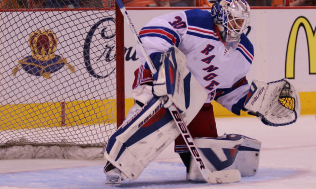 Rangers' Lundqvist Fined $5000 for Spraying Water on Pens' Crosby