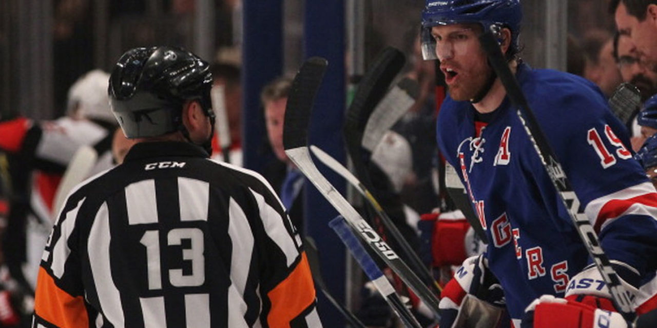 Stanley Cup Final Referees – Rangers/Kings Game 4