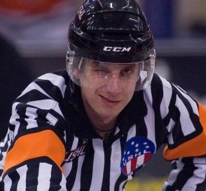 ECHL Referee Stephen Reneau (Courtesy Stephen Reneau)