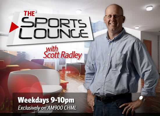 The Sports Lounge with Scott Radley AM900 CHML