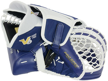 Vaughn T2000 Catching Glove. The 'cheater' is the 'panel' next to the thumb that provides additional blocking area