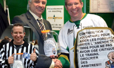 Referee Criticism Draws Fines in QMJHL; Fans Raise Money to Cover