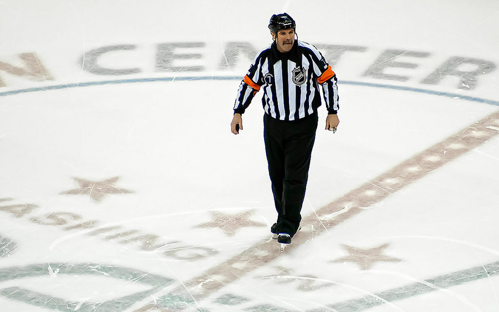 Tonight's Officials – 10/13/14