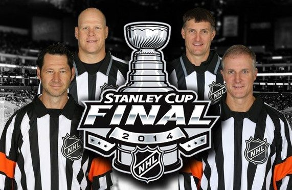 Stanley Cup Final Referees – Rangers/Kings Game 1