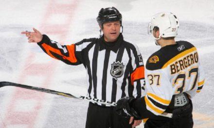 Tonight's NHL Officials – 12/1/14