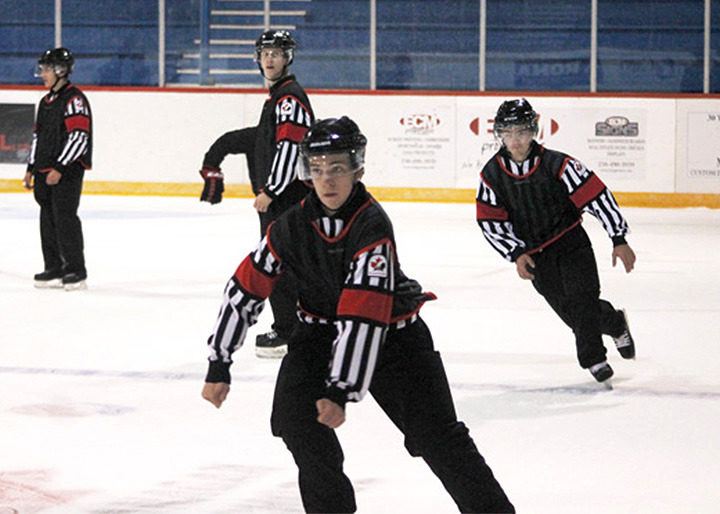 Refs Earning Their Stripes at Kozari's Officiating School
