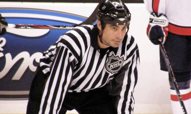 Q&A with NHL Linesman Derek Amell