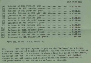 Referee Contract on eBay