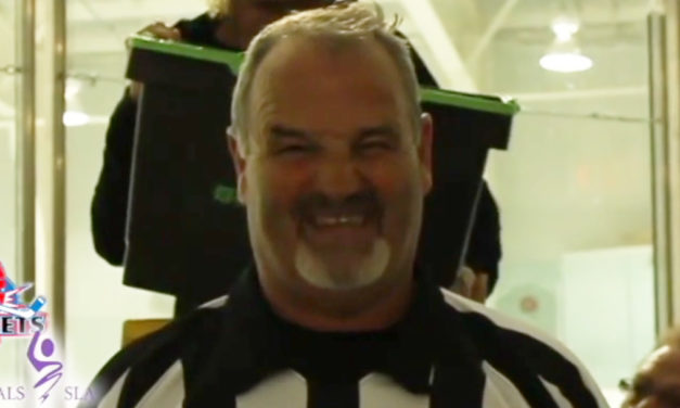 NHL Ref Don Van Massenhoven Takes Ice Bucket Challenge