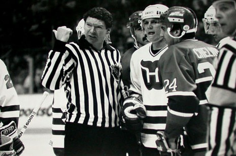 NHL Linesman Kevin Collins