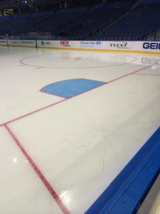 NHL Rule Changes 2014-15 - New Trapezoid