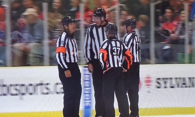 Tonight's NHL Referees & Linesmen – 11/17/14
