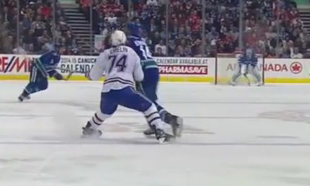 Canucks' Burrows Suspended 3 Games For Hit on Habs' Emelin