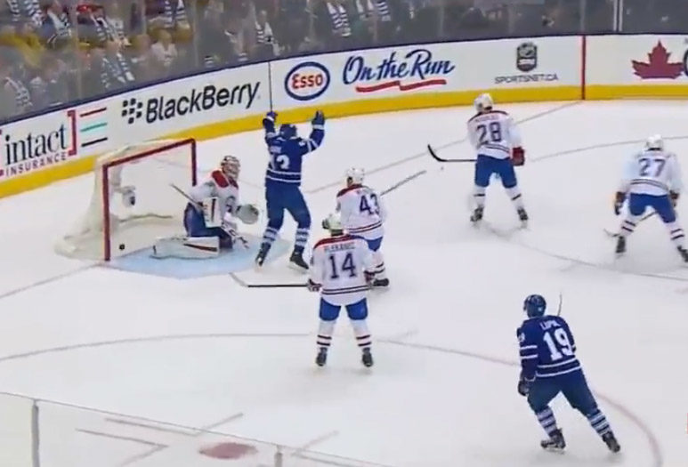 Did NHL Catch Offside on Leafs Goal?