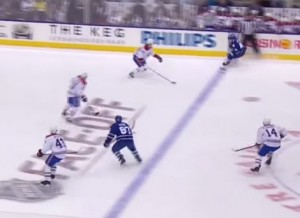 Leafs Offside on Kadri's Goal