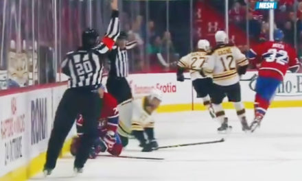 Bruins' Milan Lucic Fined $5000 for Obscene Gesture