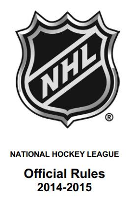 NHL Rulebook 2014-15