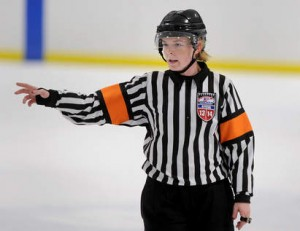 Referee Erin Blair