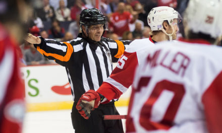 Tonight's NHL Referees & Linesmen – 1/12/15