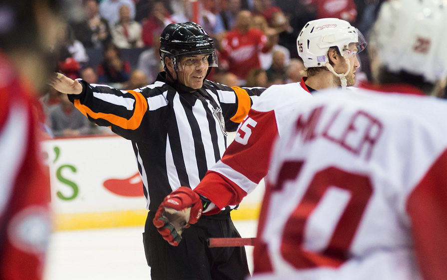 Tonight's NHL Officials – 11/27/14