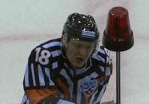 KHL Referee Nikolai Akuzovsky