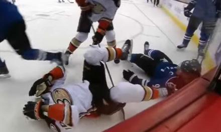 Landeskog Facing Suspension for Hit on Perry