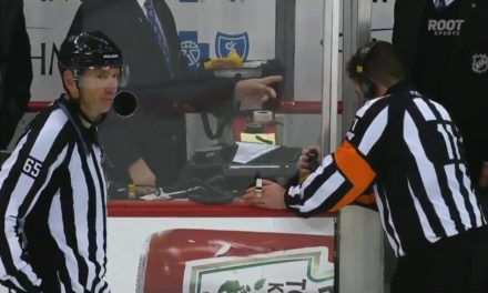 Tonight's NHL Referees & Linesmen – 11/6/15