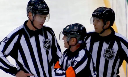 Tonight's NHL Officials – 11/23/14