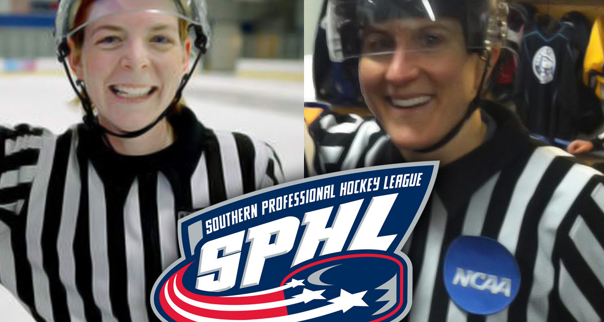 Female Referees Erin Blair & Katie Guay to Make SPHL Debuts