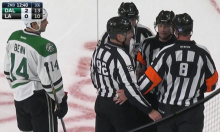 Tonight's NHL Referees & Linesmen – 1/17/15