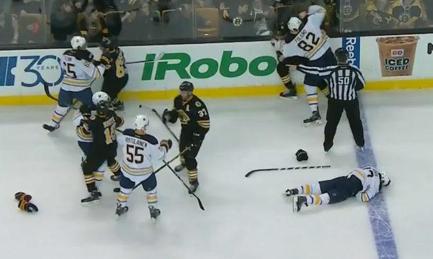 No Suspension for Bartkowski's Hit on Sabres' Gionta