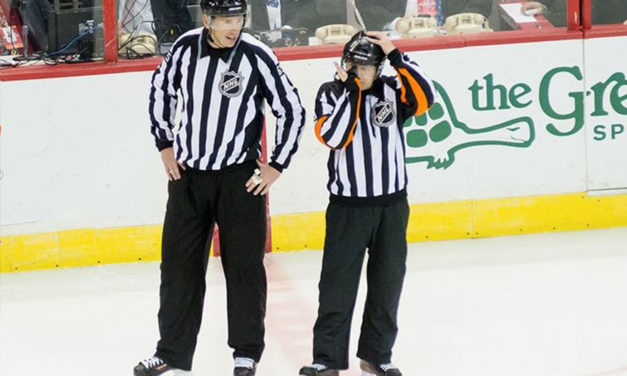 Tonight's NHL Referees & Linesmen – 3/19/16