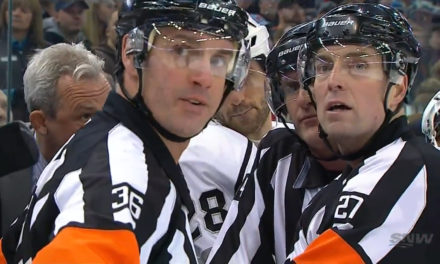 Tonight's NHL Referees & Linesmen – 12/31/14