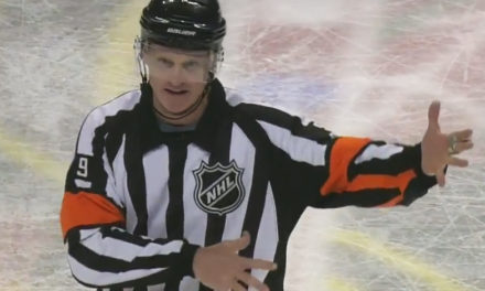 Tonight's NHL Referees & Linesmen – 12/12/15