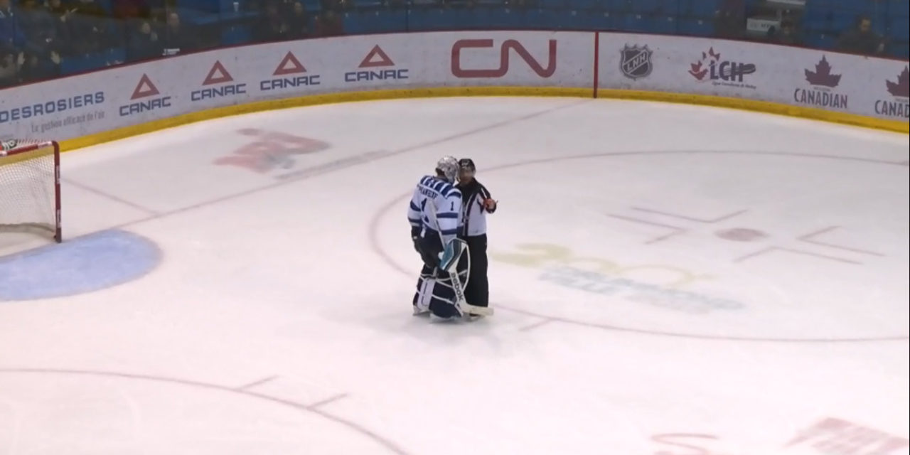 QMJHL Goaltender Phaneuf Suspended 9 Games For Kick
