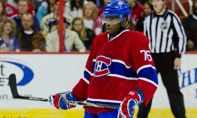 NHL Dept. of Player Safety Warns Subban About Slew-Foot