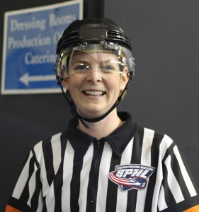 SPHL Referee Erin Blair