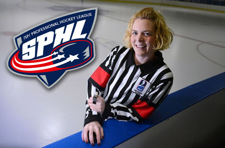 Female Referees Blair & Huntley to Work SPHL Game