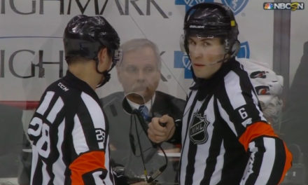 Tonight's NHL Referees & Linesmen – 1/16/15