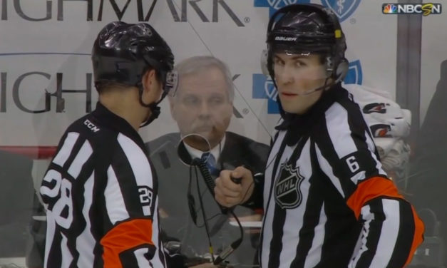 Tonight's NHL Referees & Linesmen – 1/28/15