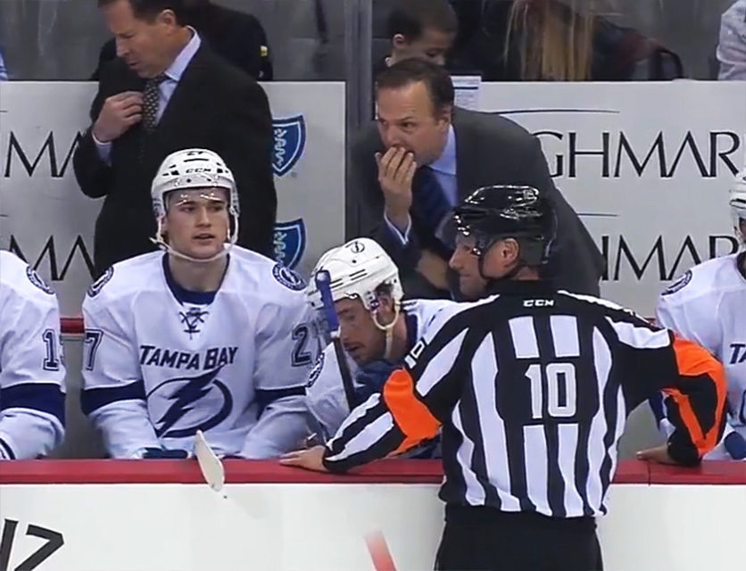 Tonight's NHL Referees & Linesmen – 3/16/15