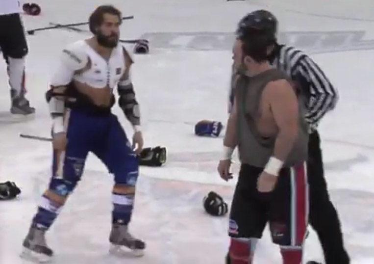 Brawl Erupts During Warmups at LNAH Game