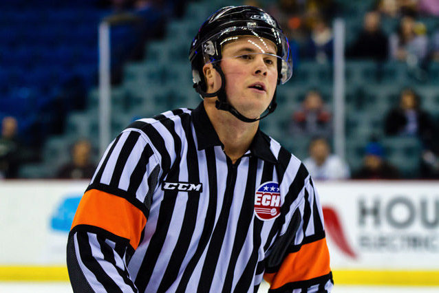 Help Support Referee Nic Leduc