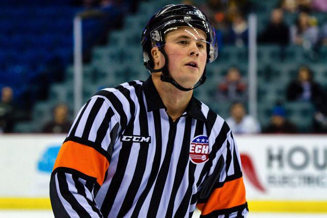 Referee Nic LeDuc Returns to Ice After Horrifying Injury