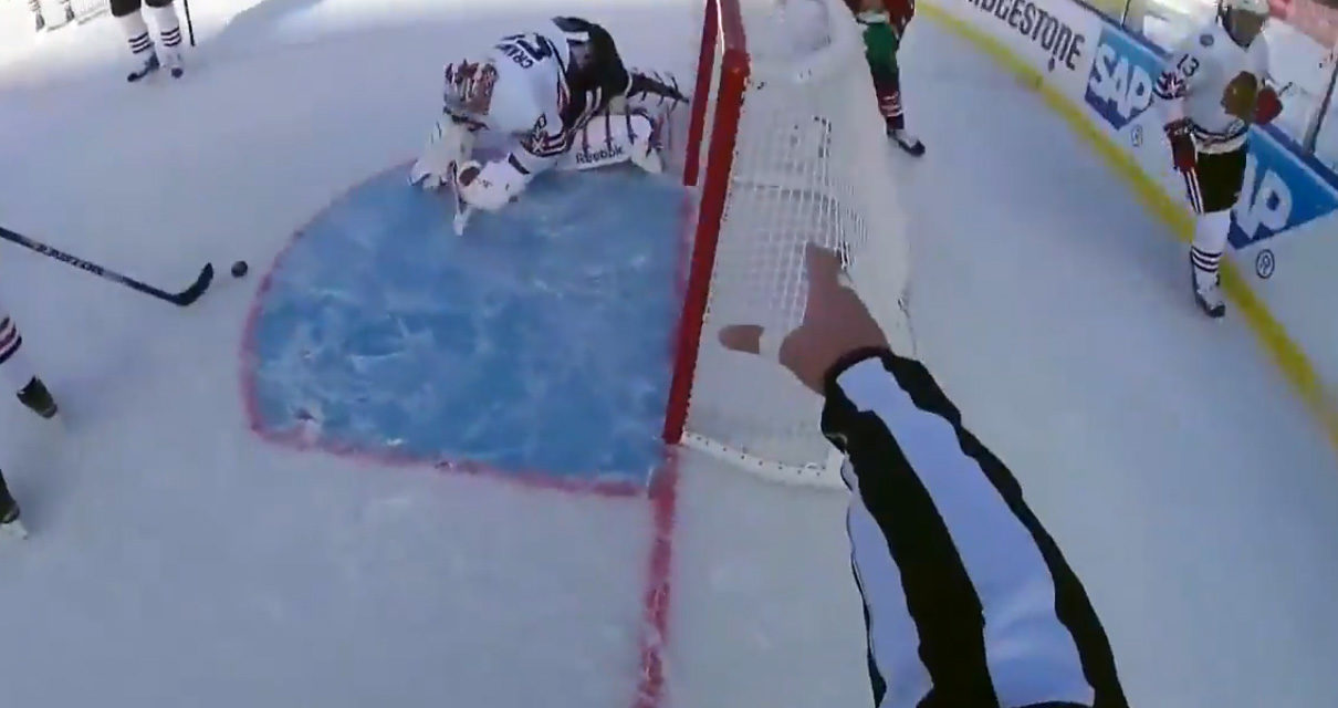 Winter Classic Ref-Cam Highlights
