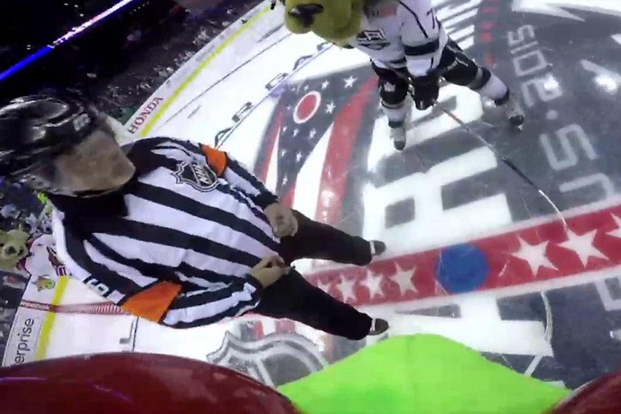 NHL All-Star Game Ref Cam Highlights